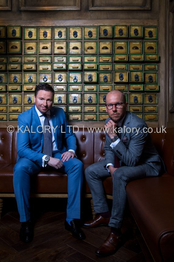 GARETH THOMAS & JOHN REID FROM BROWN & NEWIRTH