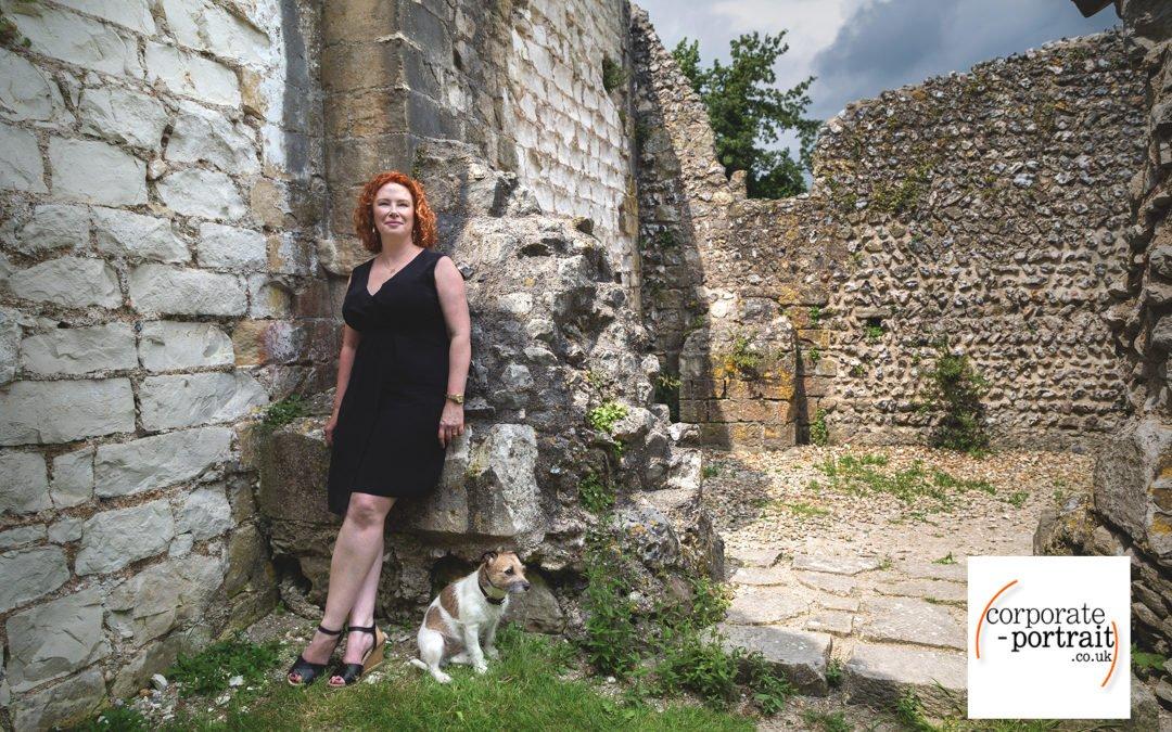 Environmental Portrait of jewellery designer Alexis Dove