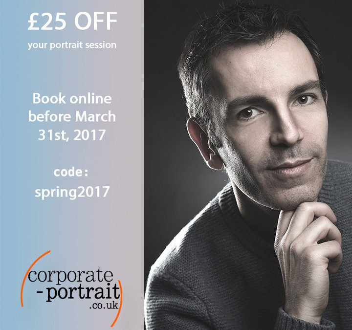 Headshot Promotion – Book & Pay online today